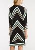 Stripe Zip Front Dress alternate view