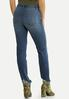 Distressed Hem Skinny Jeans alternate view
