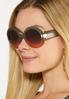 Two- Tone Round Sunglasses alternate view