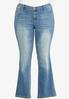 Plus Petite Cross Pocket Jeans alternate view