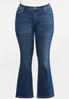 Plus Petite Sequin Embellished Pocket Jeans alternate view