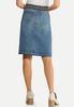 Belted Denim Skirt alternate view