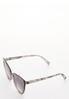Snakeskin Cateye Sunglasses alt view