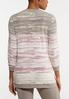 Plus Size Lilac Tie Dye Tunic alternate view