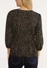 Plus Size Speckled Wrap Top alternate view