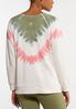 Pink Tie Dye Sweatshirt alternate view