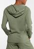Plus Size Knit Active Hoodie alternate view