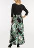 Plus Size Silky Scarf Maxi Dress alternate view