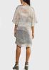 Plus Size Watercolor Slip Dress Set alternate view