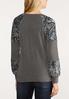 Sequin Sleeve Sweatshirt alternate view