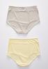 Plus Size Hello Yellow High Waist Panty Set alternate view