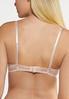 Plus Size Pink Ivory Lace Bra Set alt view