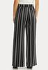 Petite Striped Tie Belted Pants alternate view