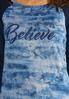 Plus Size Believe Baseball Top alt view