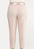 Plus Size Floral Belt Pants alternate view