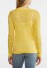Yellow Pullover Sweater alternate view