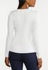 Plus Size Fitted Ribbed Sweater alternate view