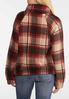 Plaid Fleece Pullover Top alternate view