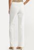 White Linen Trouser Pants alternate view