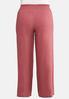 Plus Size Smock Waist Linen Pants alternate view