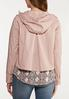 Plus Size Soft Pink Utility Jacket alternate view