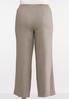 Plus Size Natural Linen Pants alternate view
