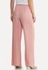 Petite Pink Pleated Pants alternate view