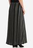 Plus Size Ribbed Knit Maxi Skirt alternate view