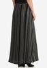 Plus Petite Ribbed Knit Maxi Skirt alternate view