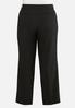 Plus Size Curvy Shape Enhancing Trousers alternate view