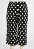 Plus Size Polka Dot Cropped Pants alternate view
