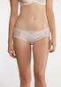 Heart Trim Ribbed Hipster Panty Set alt view