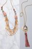 Layered Multi Row Necklace alt view
