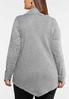 Plus Size Relaxed Cowl Neck Top alternate view