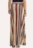 Plus Size Twist Stripe Maxi Skirt alternate view