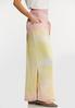 Plus Size Gauze Tie Dye Maxi Skirt alt view