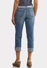 Belted Boyfriend Jeans alternate view