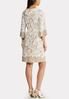Plus Size Lacy Taupe Dress alternate view