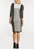 Mixed Stripe Dress alternate view