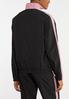 Plus Size Sporty Stripe Jacket alternate view