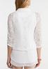 White Lace Jacket alternate view
