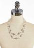 Double Row Pearl Necklace alternate view