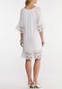 Lace Trim Peasant Dress alternate view