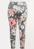 Plus Size Bold Floral Leggings alternate view