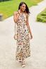 Floral Pleated Maxi Dress alt view