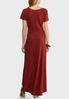 Plus Size Ribbed Maxi Dress alternate view