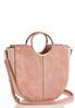 Pink Oversized Satchel alt view