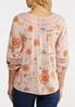 Lacy Blush Floral Poet Top alternate view