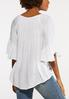 Plus Size Crepe Off The Shoulder Top alternate view
