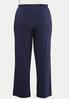 Plus Petite Solid Wide Leg Pants alternate view